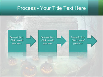 Halloween design PowerPoint Template - Slide 88