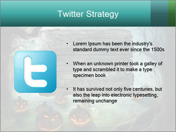 Halloween design PowerPoint Template - Slide 9