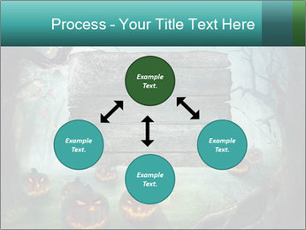 Halloween design PowerPoint Template - Slide 91