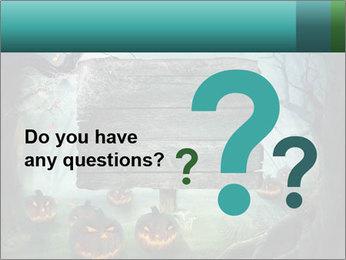Halloween design PowerPoint Templates - Slide 96