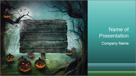 Halloween design PowerPoint Template