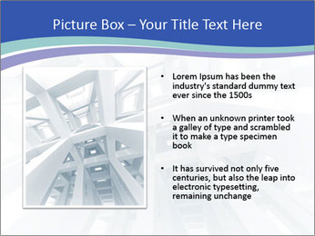 3d abstract architecture PowerPoint Template - Slide 13