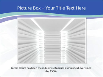 3d abstract architecture PowerPoint Template - Slide 16