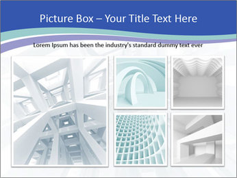 3d abstract architecture PowerPoint Template - Slide 19