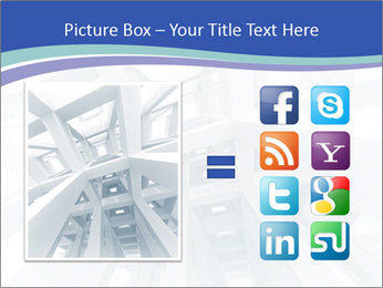 3d abstract architecture PowerPoint Template - Slide 21