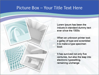 3d abstract architecture PowerPoint Template - Slide 23