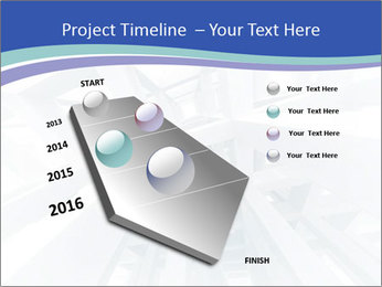 3d abstract architecture PowerPoint Template - Slide 26