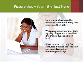 Charming secretary PowerPoint Template - Slide 13
