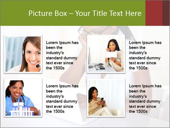 Charming secretary PowerPoint Template - Slide 14