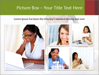 Charming secretary PowerPoint Template - Slide 19