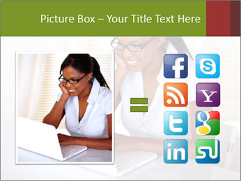 Charming secretary PowerPoint Template - Slide 21