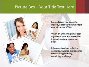 Charming secretary PowerPoint Template - Slide 23