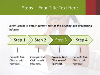 Charming secretary PowerPoint Template - Slide 4