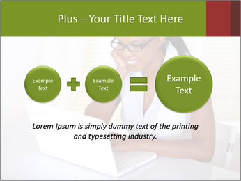 Charming secretary PowerPoint Template - Slide 75