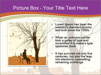 Man with a cat PowerPoint Template - Slide 13