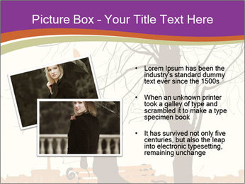 Man with a cat PowerPoint Template - Slide 20