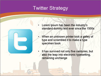 Man with a cat PowerPoint Template - Slide 9