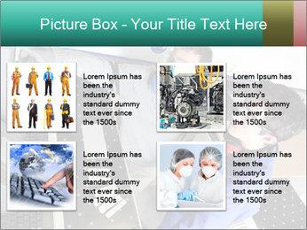 Man training PowerPoint Template - Slide 14