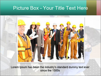 Man training PowerPoint Template - Slide 16