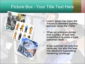 Man training PowerPoint Template - Slide 17