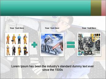 Man training PowerPoint Template - Slide 22