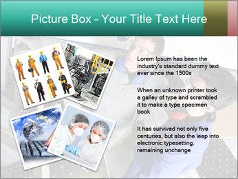 Man training PowerPoint Template - Slide 23
