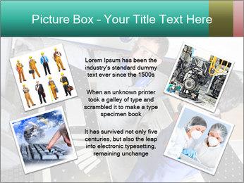 Man training PowerPoint Template - Slide 24