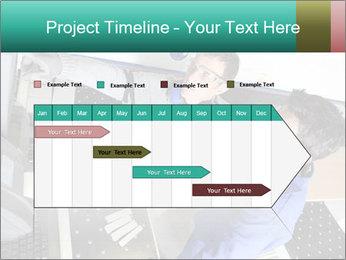 Man training PowerPoint Template - Slide 25