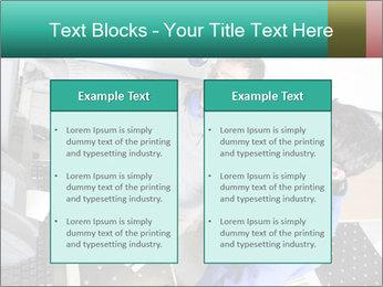 Man training PowerPoint Template - Slide 57