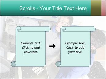 Man training PowerPoint Template - Slide 74