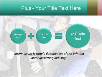 Man training PowerPoint Template - Slide 75