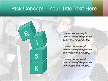 Man training PowerPoint Template - Slide 81