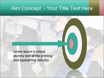 Man training PowerPoint Template - Slide 83