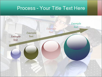 Man training PowerPoint Template - Slide 87