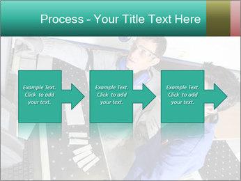 Man training PowerPoint Template - Slide 88