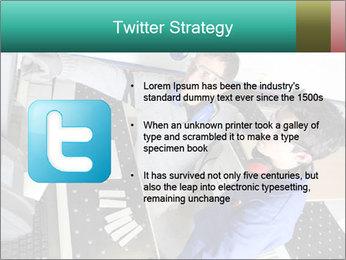 Man training PowerPoint Template - Slide 9
