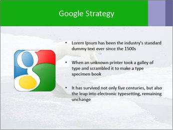 Polar bear PowerPoint Template - Slide 10