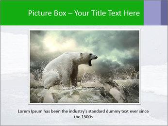 Polar bear PowerPoint Template - Slide 15