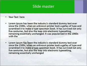 Polar bear PowerPoint Template - Slide 2