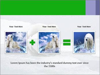 Polar bear PowerPoint Template - Slide 22