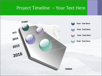Polar bear PowerPoint Template - Slide 26