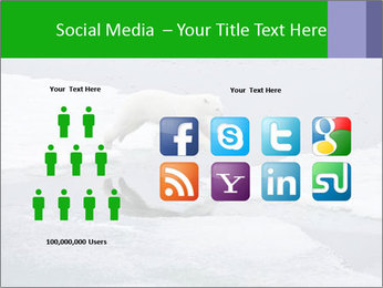 Polar bear PowerPoint Template - Slide 5