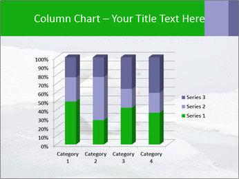 Polar bear PowerPoint Template - Slide 50