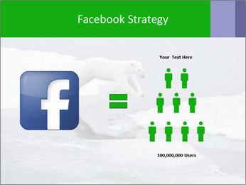Polar bear PowerPoint Template - Slide 7
