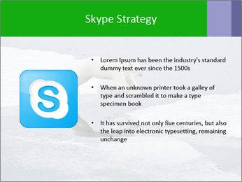 Polar bear PowerPoint Template - Slide 8