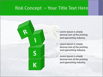 Polar bear PowerPoint Template - Slide 81