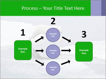 Polar bear PowerPoint Template - Slide 92