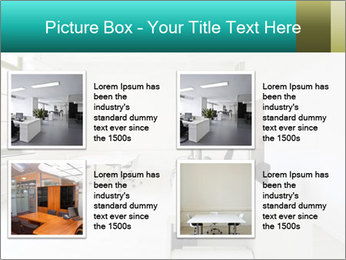 Interior in office PowerPoint Template - Slide 14