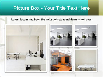 Interior in office PowerPoint Template - Slide 19