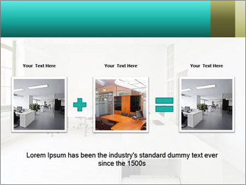 Interior in office PowerPoint Template - Slide 22